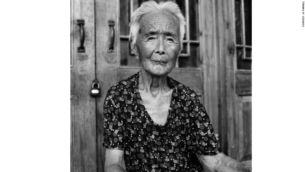 "Portrait of Zhao Hua Hong. ""There are Chinese people who criticize me for documenting bound feet. They emphasize that this is the 'old China' and question who will benefit from documenting this horrible thing of the past. They want to forget about it. But this is history. Just because we don't like it doesn't mean we shouldn't document it,"" says Farrell."