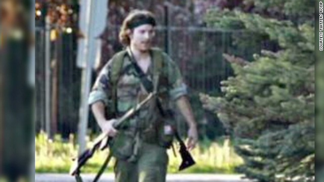 Police: Gunman in Canada captured