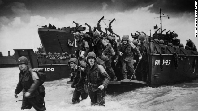 A timeline of World War II