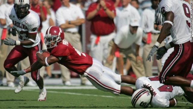 Tyrone Prothro became the most talked-about college athlete, but his career hopes soon shattered.
