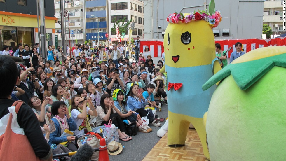 From the humble beginnings of a youtube channel, Funassyi's popularity has exploded in the last two years. His resume includes television commercials, talk show appearances, music videos and even his own novelty single released by Universal Music.