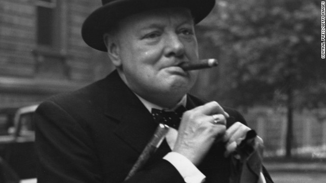 Winston Churchill's dinner table: Clear soup, cigars and above all, conversation