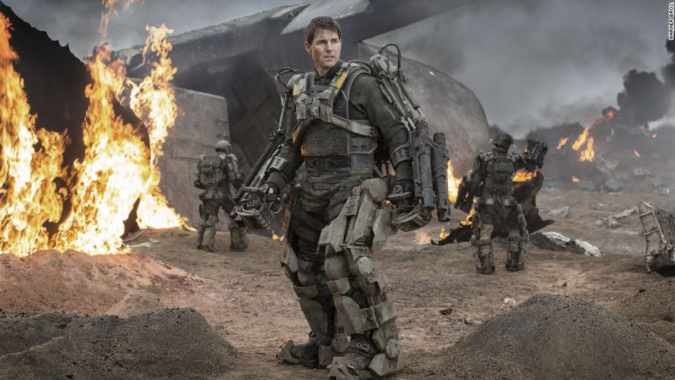 "Despite solid reviews -- 90% approval at Rotten Tomatoes -- Tom Cruise's<strong> ""Edge of Tomorrow"" </strong>flopped domestically, with barely a $100 million gross on a $178 million budget. Overseas, Cruise fared better; the film has made $264 million outside the United States."