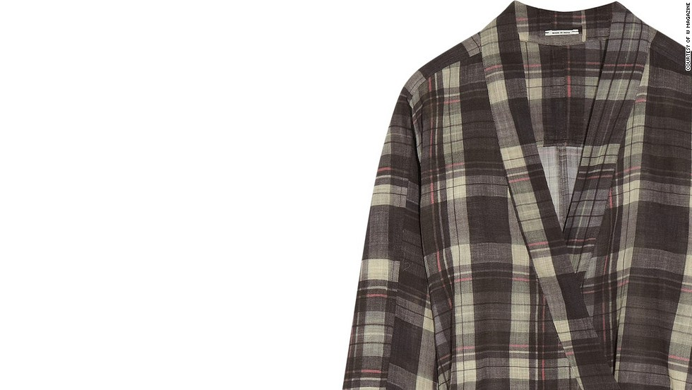 """This checked dress has an outdoorsy, cabin-friendly feel. Etoile Isabel Marant Vanessa checked cotton dress, <a href=""""netaporter.com"""" target=""""_blank"""">netaporter.com</a>."""