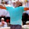 rafa nadal celebrates french open
