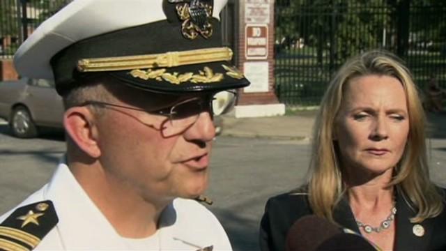 Suspect in VA naval stabbing in custody