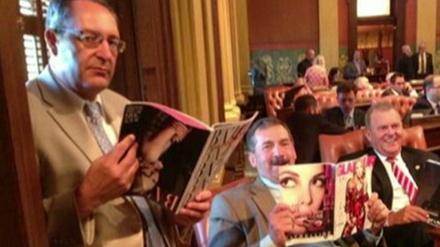 Is GOP photo sexist or just a good joke?