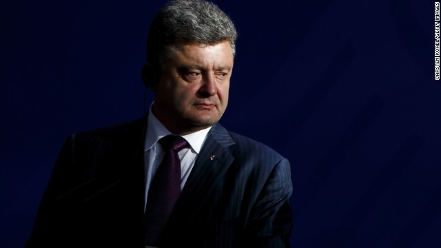 Poroshenko says he's ready for peace deal