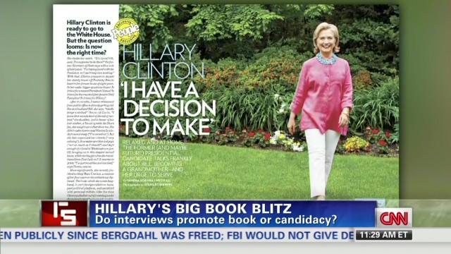 Hillary Clinton's book blitz