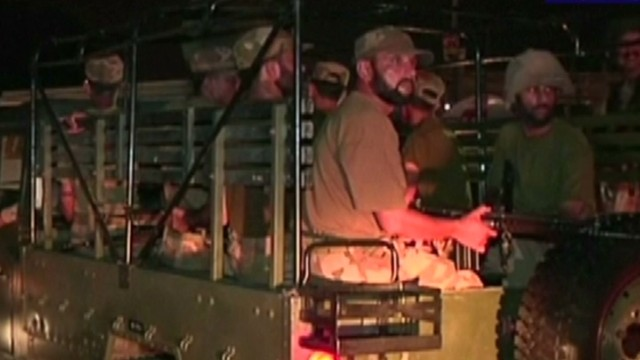 Gunmen attack Karachi airport