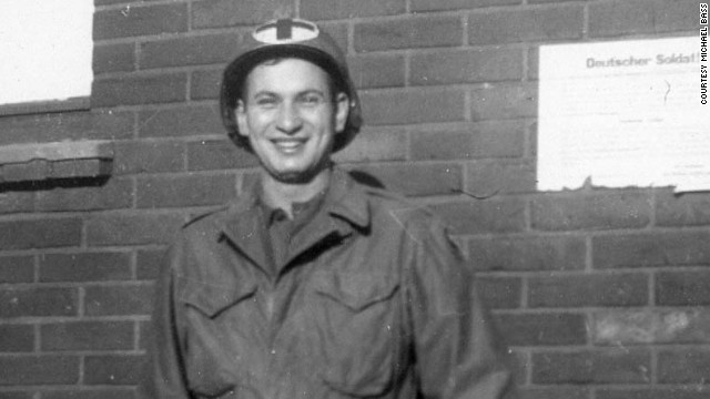 Milton Bass received a Silver Star for gallantry as a U.S. soldier in France during World War II.