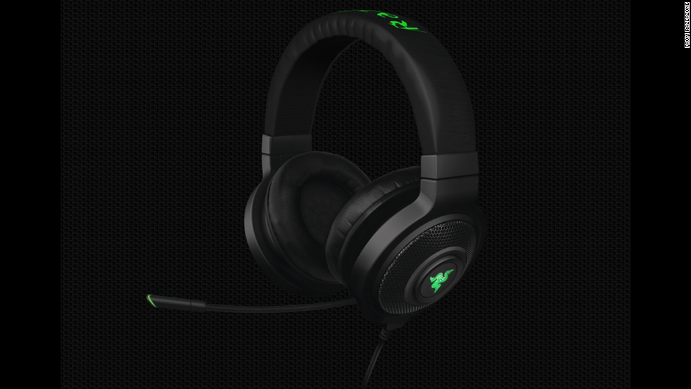 "Great for a dad who loves online gaming or who just needs a quality set of headphones and a solid microphone. The microphone on<a href=""http://www.razerzone.com/store/razer-kraken-71"" target=""_blank""> the Kraken headset </a>($99) is retractable and can be flipped into an earpiece when not in use."