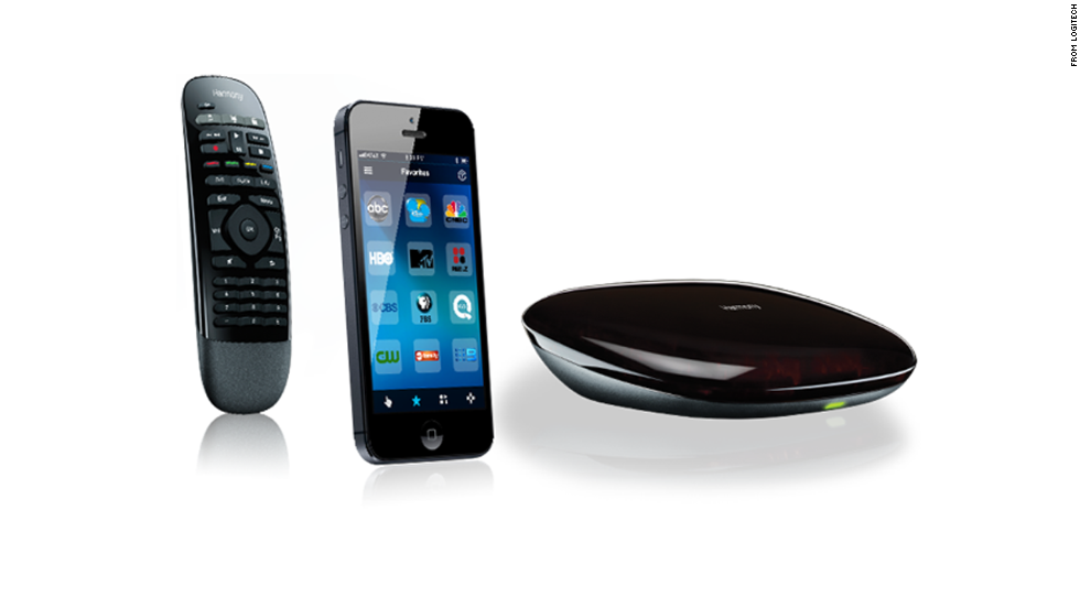 """""""Where's the remote? No, not this one. The other one."""" If dad's ever said that, a universal remote is the answer. Lots of reviewers like <a href=""""http://www.logitech.com/en-us/product/harmony-smart-control"""" target=""""_blank"""">this one from Logitech</a> ($129), which works with your Android or Apple phone. It lets you control up to eight devices, including gaming consoles."""