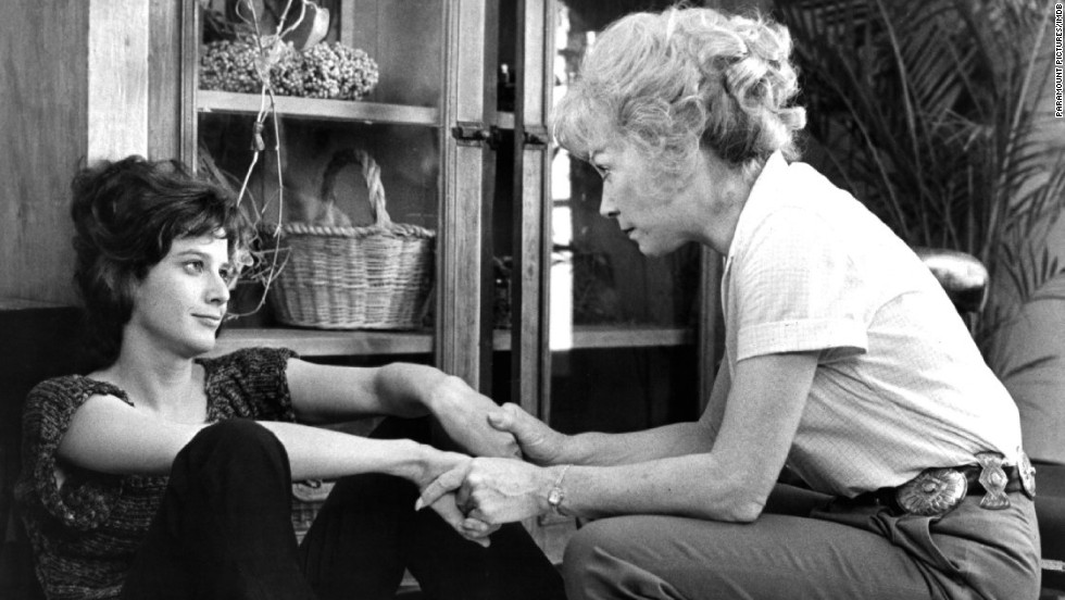 """<strong>""""Terms of Endearment"""" (1983)</strong>: This best picture Oscar winner, starring Debra Winger, left, and Shirley MacLaine, is packed with drama. There's a mother and daughter butting heads, and more than one unhappy marriage, but when a terminal cancer diagnosis is made, any chance of holding back the tears is off."""