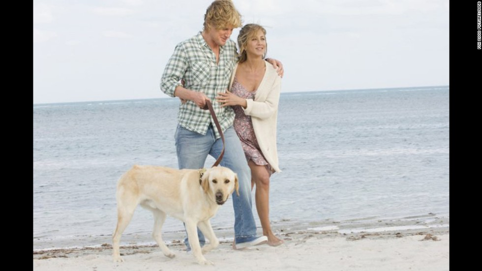"<strong>""Marley & Me"" (2008)</strong>: This comedy starring Owen Wilson and Jennifer Aniston hits home for all the people who've raised, loved and lost a furry, four-legged member of the family."
