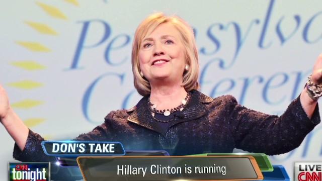 Lemon: 'Hillary Clinton is running'