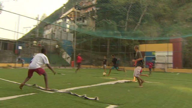 Children hope for escape through sport