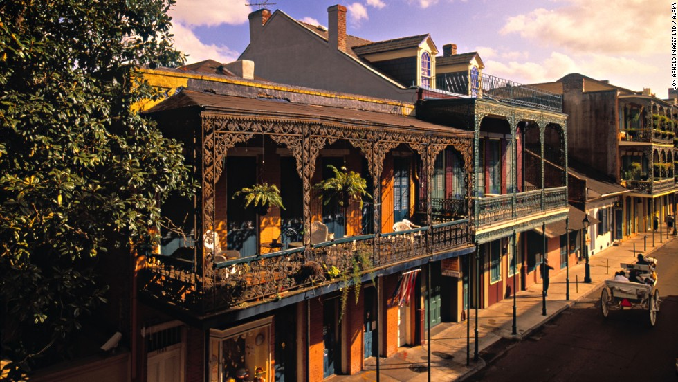 Readers of Travel + Leisure magazine have voted for their favorite city destinations in an annual survey. In 10th place is the American Mardi Gras capital, New Orleans.