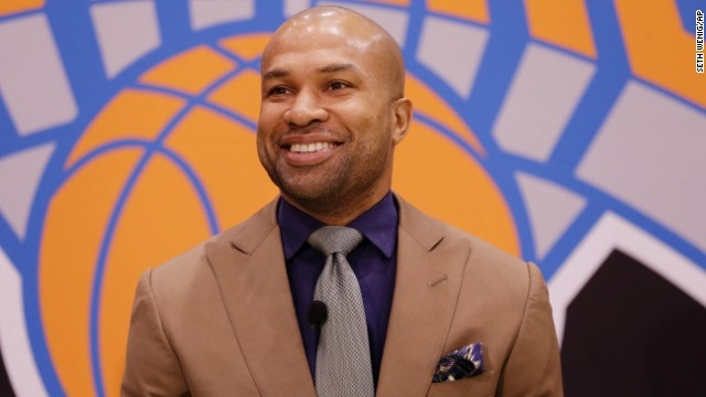 The New York Knicks hired Derek Fisher as their new coach on Tuesday, with Phil Jackson turning to one of his trustiest former players.