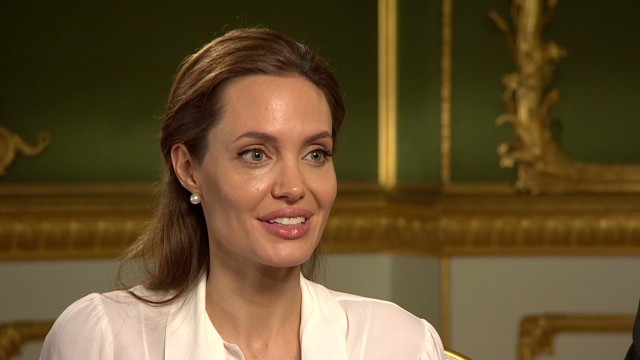 Angelina Jolie on Hillary Clinton