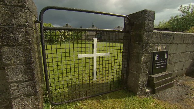 Possible mass grave in Ireland