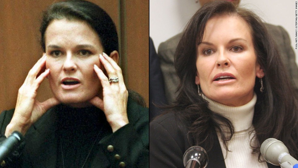 <strong>Denise Brown:</strong> Nicole Brown Simpson's sister, Denise, testified in the murder trial that her sister was an abused wife. In 2010, Brown started a group for public speakers on domestic violence, sexual assault, mental health and more, called The Elite Speaker's Bureau, Inc.