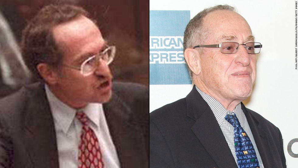 "<strong>Alan Dershowitz: </strong>Dershowitz played a major role in Simpson's defense team. He retired in 2014 after 50 years of teaching at Harvard University. Dershowitz has written 30 books. His legal autobiography, ""Taking The Stand: My Life in the Law,"" came out in October 2013. <br />"
