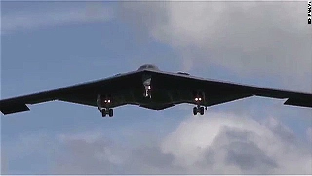 Rare B-2 stealth bombers land in Europe