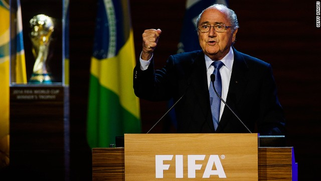 FIFA's Blatter to seek Presidency again