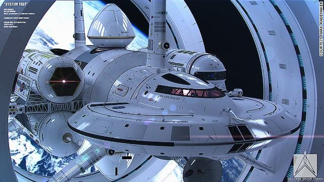 What an Enterprise! NASA physicist, artist unveil warp-speed craft design