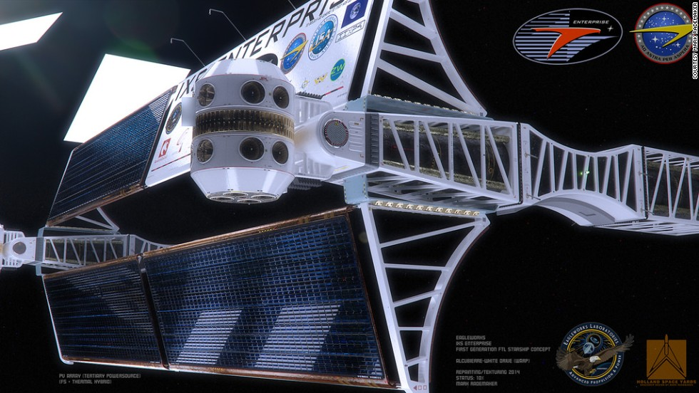 White and his team at NASA have been working on developing warp-drive technology, which would be able to bend space around a spacecraft, since 2010.