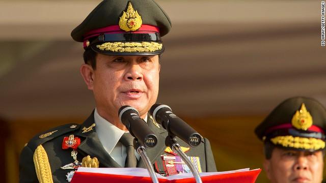 Thailand's military seizes guns