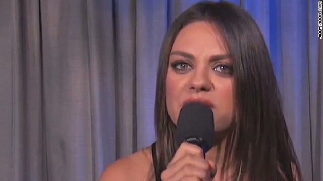 Mila Kunis: Stop saying we're pregnant