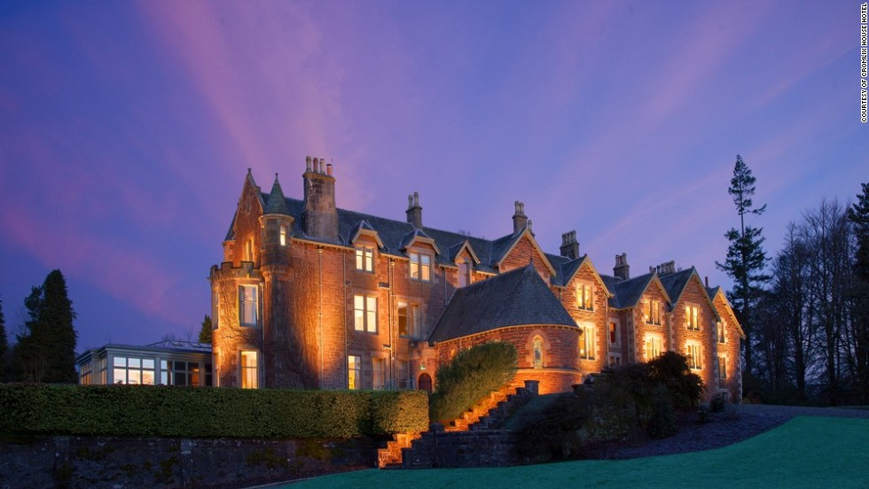 Tennis star Andy Murray is the driving force behind the Cromlix House Hotel, a Victorian mansion renovation in Scotland. There are tennis courts and, occasionally, a mini Highland games.