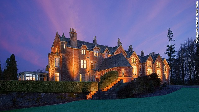 Andy Murray's Cromlix House Hotel.