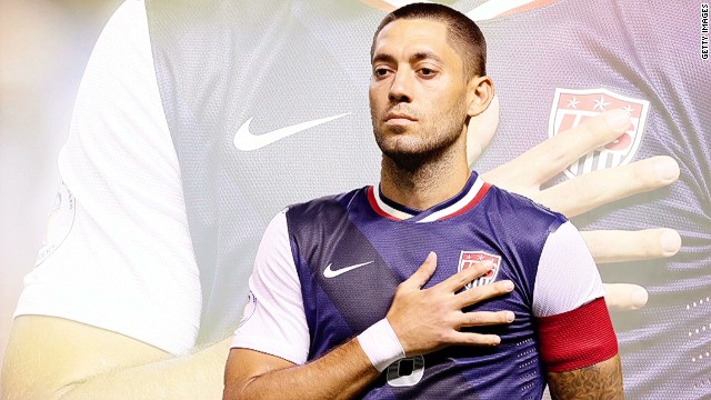 Clint Dempsey, the new Captain America
