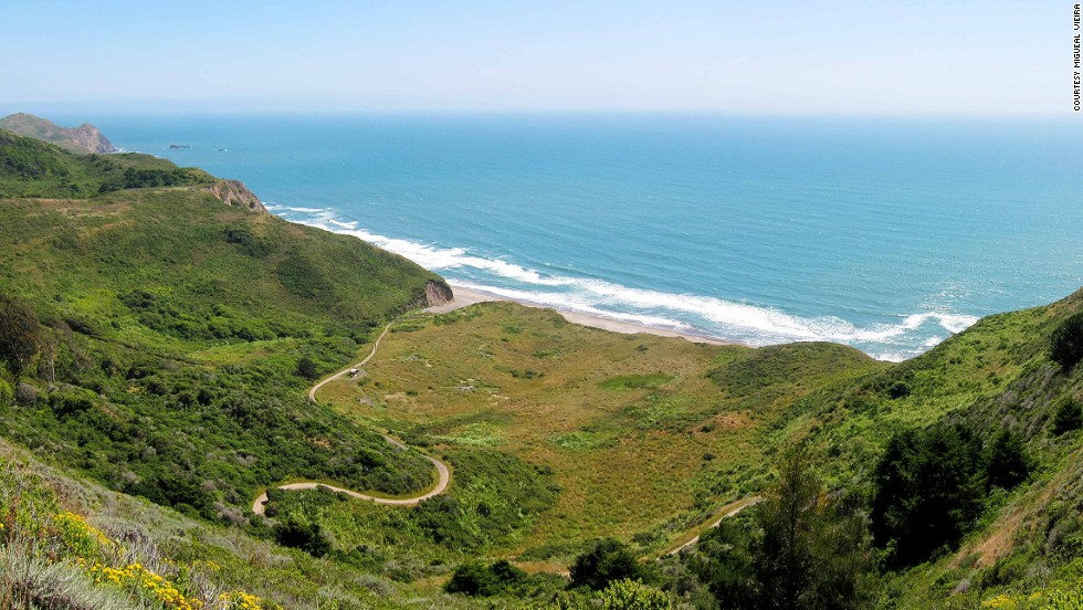 The 5.5-mile hike (or seven-mile bike ride) keeps the average beach-goer from reaching Wildcat Beach, a vehicularly inaccessible notch of the popular Point Reyes National Seashore.