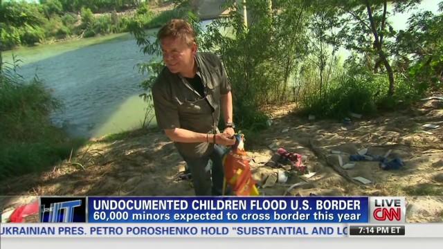 Undocumented children flood U.S. border