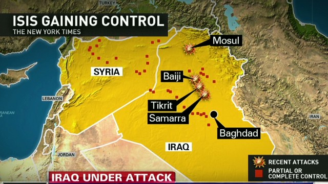 "U.S. ""caught off guard"" by Iraq crisis"