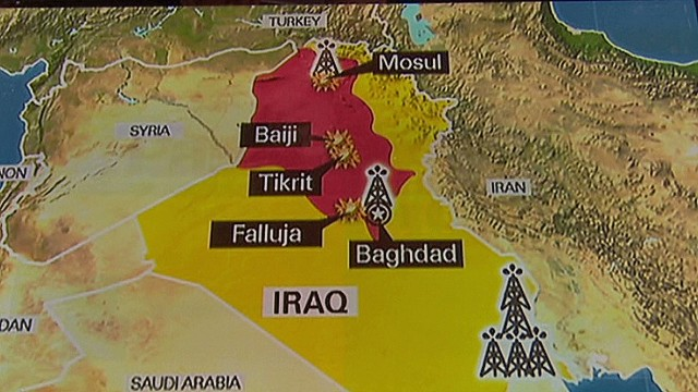 Oil prices rise over unrest in Iraq