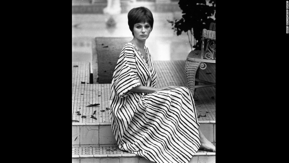 Caftans were a staple of the bohemian chic look that evolved from Western jet-setters visiting the Middle East and North Africa in the 1960s, said Valerie Steele, director and chief curator of the Museum at the Fashion Institute of Technology in New York. The look was popularized in fashion spreads and celebrities, including British model and actress Jacqueline Bisset, here in 1968.