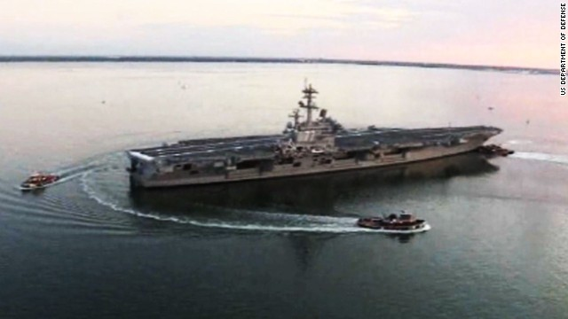 US moves warship to Persian Gulf