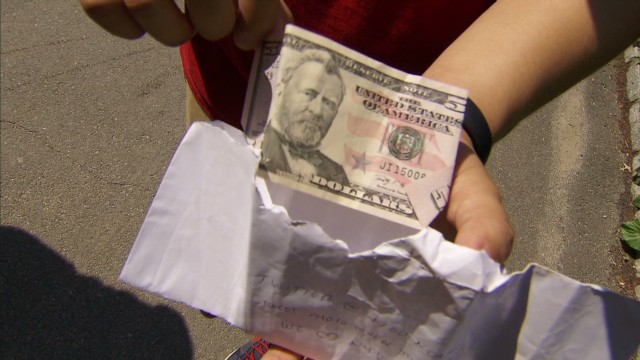 'Hidden Cash' craze hits Central Park