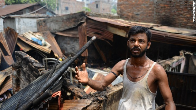 Clashes at a refugee camp left 10 people dead in Dhaka, Bangladesh on June 14, authorities say.