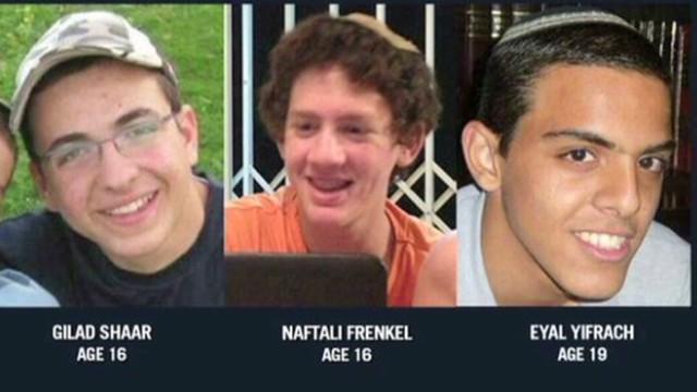Israeli teenagers kidnapped