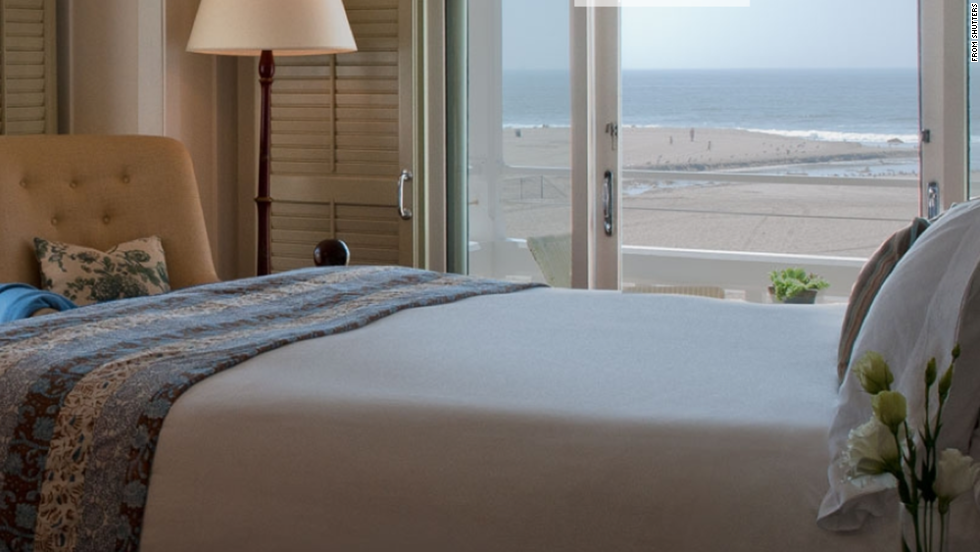 Luxurious Shutters on the Beach is a quiet Santa Monica getaway favored by celebrities.