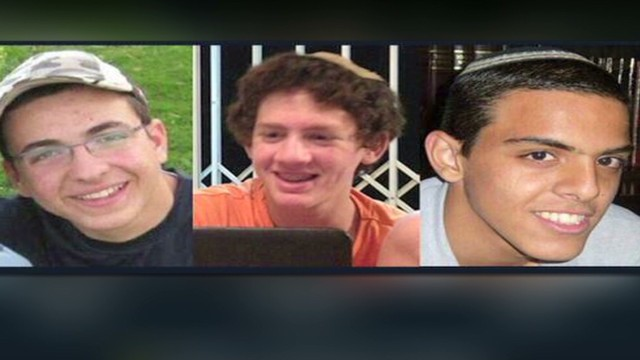 Israeli PM says Hamas abducted 3 teens
