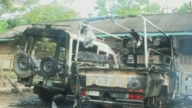 Gunmen attack Kenyan town