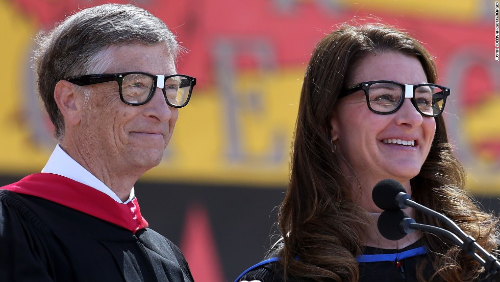 "The founders and co-chairs of the Bill & Melinda Gates Foundation gave the commencement address at Stanford University on June 15. ""Even in dire situations, optimism can fuel innovation and lead to new tools to eliminate suffering. But if you never really see the people who are suffering, your optimism can't help them. You will never change their world,"" Bill Gates told students.<br />"