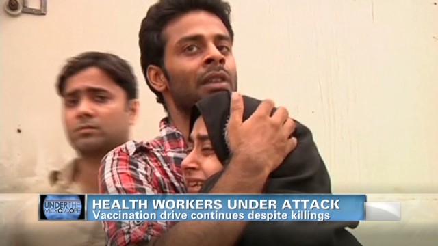 Health workers under attack in Pakistan